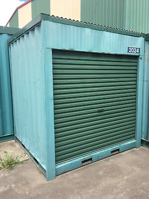 2m long approx 2.43m wide 2.6m High shipping container / Portable storage shed