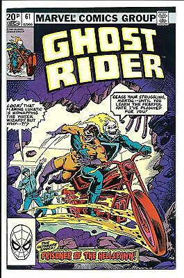 GHOST RIDER (Vol.1) # 61 (OCT 1981), VF/NM
