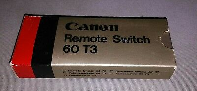 CANON REMOTE SWITCH 60 T3 - New In opened Box.