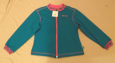 Please Mum-Mercury Blue Sweater  Zipper Front Youth Size L (8)-Nwt Value $46.99