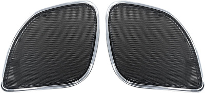 Hogtunes Replacement Speaker Grills 2015-2017 Harley Road Glides Rg Rm Grill-C
