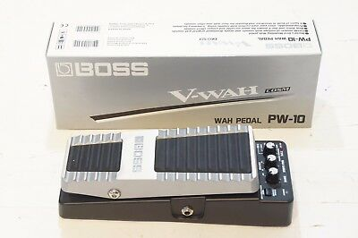 BOSS PW-10 V-WAH PEDAL Modeling COSM Wah Pedal World Shipment