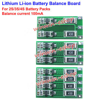 18650 Battery Packs Lithium Li-ion Balance Board Cell Charger Balancer Circuit