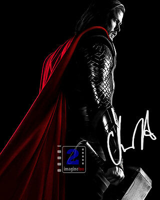 "Chris Hemsworth 8""x 10"" Signed Color Promo PHOTO REPRINT"