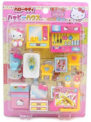 Hello Kitty Happy House Doll Furniture Sets Japan