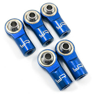 Alloy 3mm Rod Ends for 1:10 RC Rock Crawler or Car suit Axial Gmade MST  - BLUE