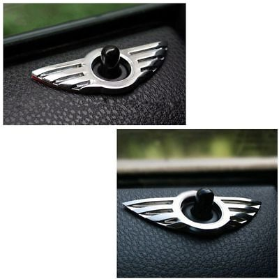 Car 3D Door Pin Badge Emblem for BMW MINI Cooper/S/ONE/Roadster/Clubman Quality