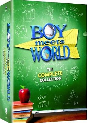 BOY MEETS WORLD the Complete DVD Series Collection 1-7 - Season 1 2 3 4 5 6 7