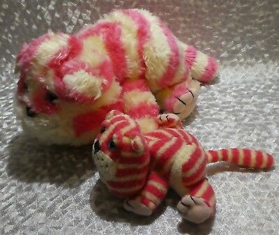Bagpuss Beanies Soft Toy Cats Golden Bear Products Large And Small 1999