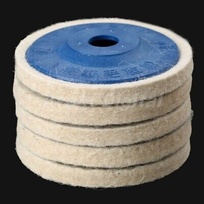 100mm Wool Felt Wheel Buffing Pad Polishing Grinding Abrasive Disc Rotary Tool