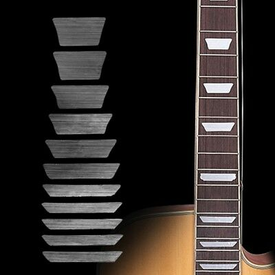 Guitar Thin Trapezoid Fretboard Decal Marker Inlay Sticker For Electric Acoustic