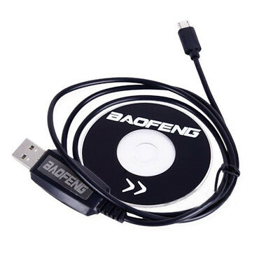 USB Programming Cable With CD For Baofeng BF-T1 Mini Walkie Talkie Radio
