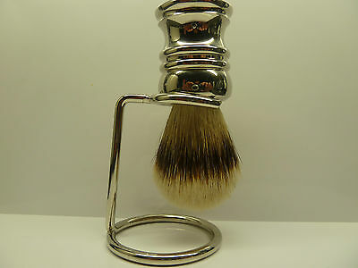 Silver Tip Badger shaving brush with FREE STAND!!