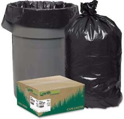 EarthSense 33 gal. Recycled Trash Bags 80 ct Heavy Garbage Duty Yard EarthSense