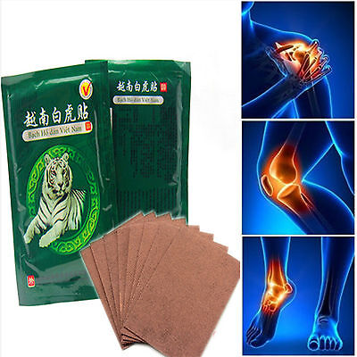 16pcs Tiger Balm Plasters Back Body Pain Relief Patch Heat Balm Plasters Muscle