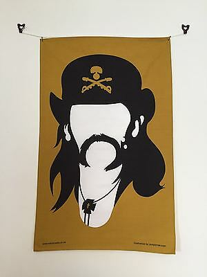 Lemmy Tea Towel -  Motorhead