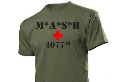 MASH 4077 T-Shirt M*A*S*H 4077th #3 M.A.S.H. Größe 3 -5XL US Army Medical Corps