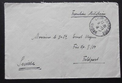 French Military Post Envelope