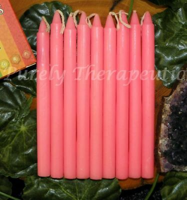 9x BLACK WISH RITUAL SPELL CANDLES~2 Hour Burn Time~12cm Wicca Witch Pagan Reiki