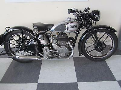 NORTON 16H 490cc SINGLE CYLINDER CLASSIC MOTORCYCLE