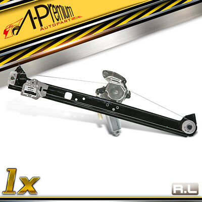 A-Premium Power Window Regulator without Motor for BMW X5 E53 2000-2006 Rear Left Driver Side