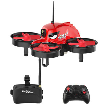 Eachine E013 Micro FPV Racing Quadcopter 5.8G 40CH 1000TVL Camera VR006 Occhiali