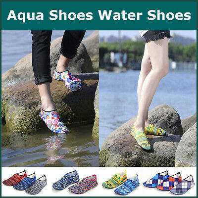 Aqua Shoes Slip on Water Socks for Men women Unisex Swim Surf Beach Reef Shoes