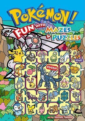 Pokemon! Fun with Mazes & Puzzles By Hiroshi Takase