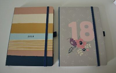 Busy Life Two Page Home / Work Diary 2018 A5 Family Planner Gift Dual Schedule