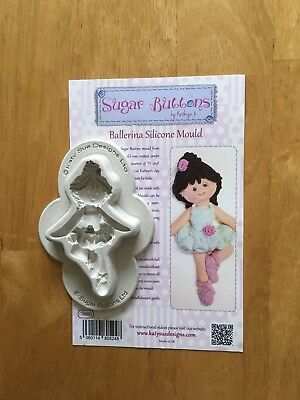 Sugar Buttons Ballerina Silicone Mould