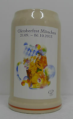original oktoberfest ma krug mit deckel 1992 1 liter sammlerkrug neu eur 20 00 picclick de. Black Bedroom Furniture Sets. Home Design Ideas