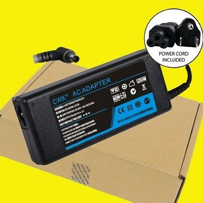 AC Adapter Charger Power Supply Cord for Samsung Monitor s24D300H LCD LS24D300HS