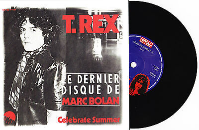 "T. Rex - Celebrate Summer / Ride My Wheels - 7"" EU Vinyl 45 - New & Unplayed"