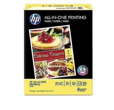"""HP All In One Paper 22lb 96 Bright 8-1/2 x 11"""" Ream HEW207010 - Brand New Item"""