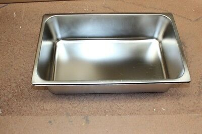 Stainless Steel Bain Marie Tray 1/1 Size (150mm depth)