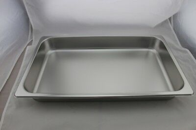 Stainless Steel Bain Marie Tray 1/1 Size (65mm depth)