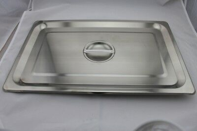 Stainless Steel Bain Marie Lid 1/1 Size