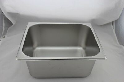 Stainless Steel Bain Marie Tray 1/2 Size (150mm depth)