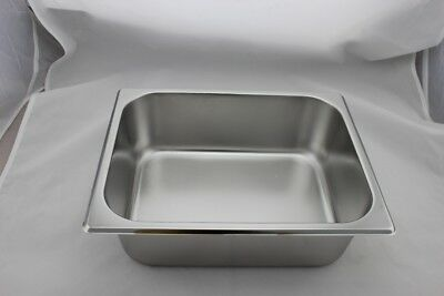Stainless Steel Bain Marie Tray 1/2 Size (100mm depth)