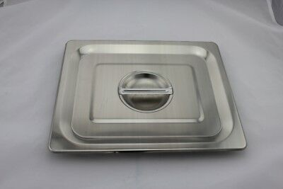 Stainless Steel Bain Marie Lid 1/2 Size