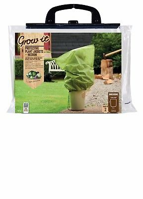 'Grow It' Protective Plant Jackets, Winter Plant Protection Fleece Bags