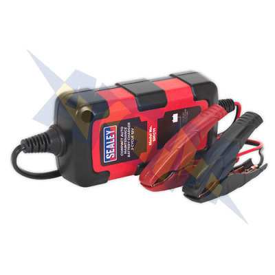 Sealey SMC11 Compact Auto Maintenance Battery Charger 12v