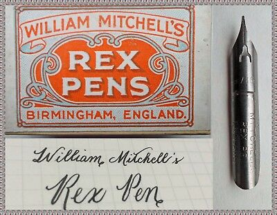 An unopened box with 144 William Mitchell's REX PENS No.0917 F