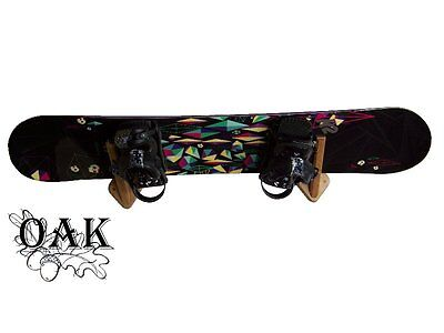 Wall hanger rack hookh ski snowboard skateboard wooden big