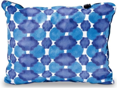 Therm-A-Rest Compressible Pillow Camping Backpacking Sleeping Indigo Dot Small