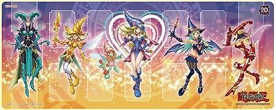 Yugioh Konami Official RUBBER PLAYMAT, Dark Magician Girl Promo MVPL