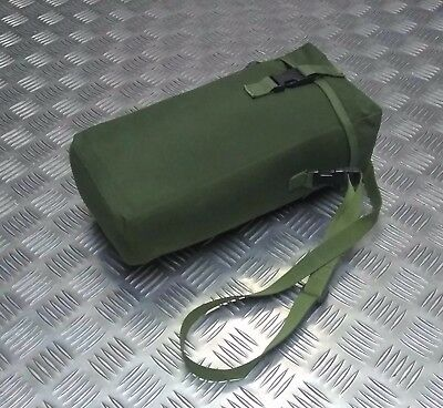 Genuine British Military Issue OD Green Long Double Lined Padded Utility Pouch