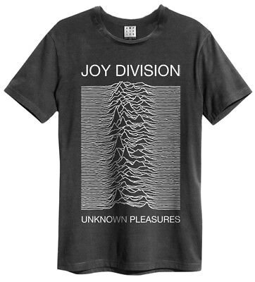 Joy Division 'Unknown Pleasures' T-Shirt - Amplified Clothing - NEW & OFFICIAL!