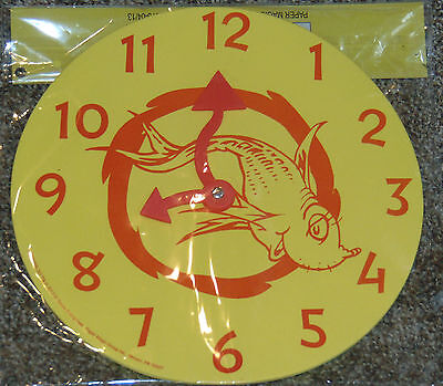 """Dr Suess Foam Learning Clock - New - 10"""" round"""