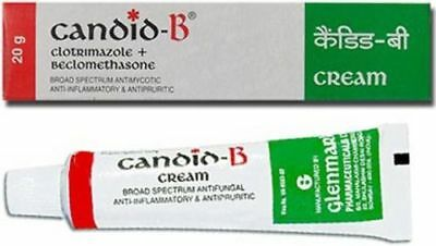 10 x candid B Cream 20g Skin Infection Itch Itching Allergy Antifungal Wholesale